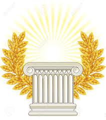 Greek Column Pedestal Greece Clipart Pedestal Pencil And In Color Greece Clipart Pedestal