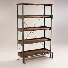 Small Open Bookcase Amusing World Market Bookcase For Your Chateau Bookcase With World