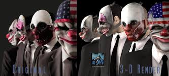 Payday Halloween Costume Pictures Show Wrong Payday Heist Mask Face