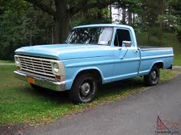 Ford Vintage Truck - classic ford f100 pickups mark traffic