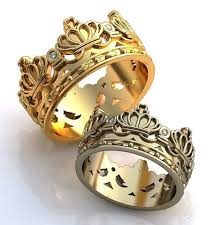king and crown wedding rings finding your uniquely personal ring style tears of weddings