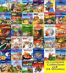 complete asterix box 34 titles rene goscinny albert