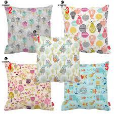 popular woodland cushions buy cheap woodland cushions lots from street floral retro fruit orchard sealife woodland print car sofa decorative pillowcase cushion cover home decor