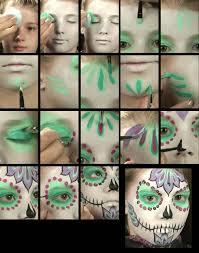 Halloween Makeup Sets by Halloween Makeup Set Sugar Skull Makeup Theatrical Make Up