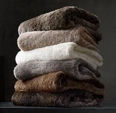 Faux Fur Blankets And Throws 14 Blankets And Throws For All Styles Glamour