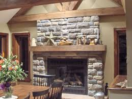 home decor decorations alluring rustic stone fireplace mantel