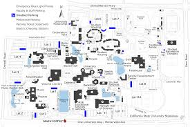 Arizona State University Campus Map by Disabled Parking California State University Stanislaus