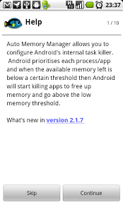 memory manager for android auto memory manager appstore for android