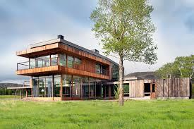 montana house montana modern ranch home highline partners u2013 progressive