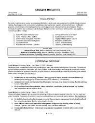 buzzwords for resume resume sle social worker resume exle social worker