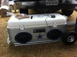 Dallas Cowboys Pool Table Felt by My Dallas Cowboys Ice Chest Radio Which Also Holds Beer Baaaby