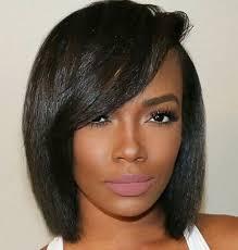 black hair swoop bang hair care pinteres
