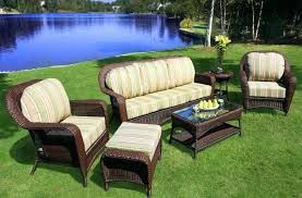 All Weather Wicker Patio Furniture Clearance by Vinyl Wicker Patio Furniture U2013 Smashingplates Us
