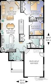 single open floor house plans w3263 beautiful single storey house plan with two bedrooms and