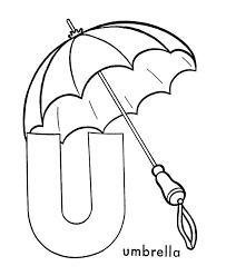 large umbrella coloring page umbrella to color interesting and funny little with umbrella