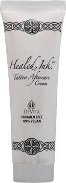 vegan tattoo aftercare cream devita healed ink tattoo aftercare cream healthy skin az