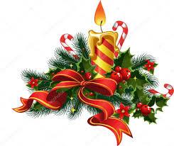 christmas candle light u2014 stock vector yadviga 1452535