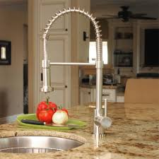 kitchen faucets stainless steel fontaine lnf rspk ss residential pull kitchen faucet