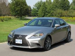 lexus canada 2014 lexus is350 f sport awd review cars photos test drives