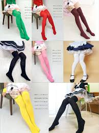 2017 the knee socks thigh high sock costume