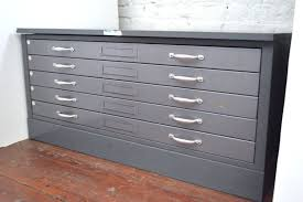 industrial 5 drawer metal flat file by hamilton industries