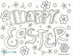 happy easter coloring pages beautiful easter coloring pages doodle