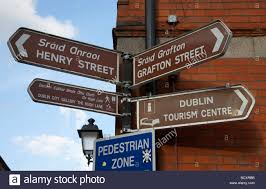 Tourist Signposting Manual Destination Nsw Dublin Signpost Stock Photos U0026 Dublin Signpost Stock Images Alamy