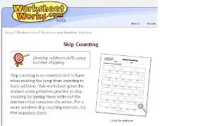 create your own skip counting worksheets mathematics herne