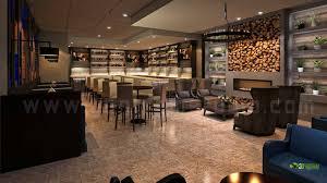 Interior Designs For Restaurants by Bar Restaurant 3d Interior Design On Architizer