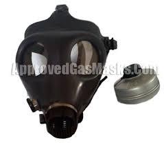 Masker Gas approved gas masks israeli civilian gas mask kit w 40mm nato canister