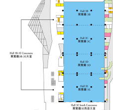 Floor Plan Of A Business by Virtual Tour Hkcec