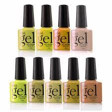 golden color shades rgb gel lak set 10ml golden color 9pcs gel nail lacquer vernis