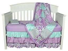 nursery beddings lavender bird baby bedding in conjunction with
