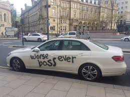 How To Spray Paint Your Car - disgruntled worker u0027quits job in dramatic style by spray painting