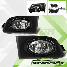 2001 2002 2003 honda civic 2dr 4dr coupe sedan jdm fog lights w