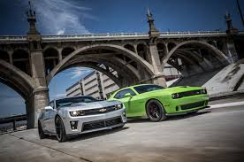 camaro zl1 vs corvette zr1 2014 chevrolet camaro zl1 vs 2015 dodge challenger srt hellcat