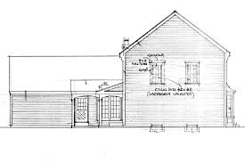 colonial house plans iverness 42 008 associated designs