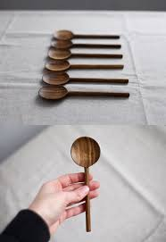 Organic Kitchen Utensils - this round spoon is comfortable for eating gruel cream soups and