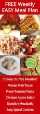 Free Dinner Ideas Free Weekly Meal Plan U2013 Week 41 Recipes U0026 Easy Dinner Ideas