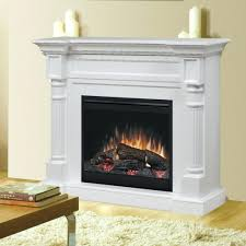 electric fireplace lowes canada corner stand black white logs