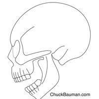 chuck bauman s dr1ace free skull stencils airbrushing album