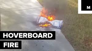 lexus hoverboard footage man claims his hoverboard exploded and caught fire while riding it