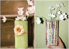 diy painted bottle vases home decor ideas on a budget jpg in craft