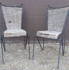 Woven Patio Chair Charmed By Heirlooms Fabric Woven Patio Chairs
