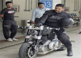 hellcat x132 dhoni bike collections of famous celebrities