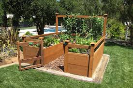 Deer Proof Fence For Vegetable Garden Amazon Com Just Add Lumber Vegetable Garden Kit 8 U0027x8 U0027 Deluxe