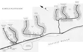 Molokai Map Maps Kawela