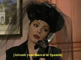 Soraya Montenegro Meme - attends funeral in spanish montenegro meme and memes