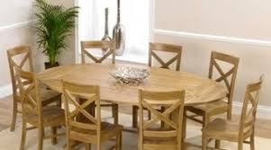 Oval Dining Tables And Chairs Favorable Oval Oak Dining Table Chairs Oval Dining Tables For Oak
