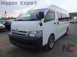 toyota hiace interior 2005 toyota hiace commuter nippon export